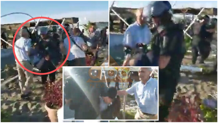VIDEO/ Pamje të rënda në Velipojë, policia shpërndan me gaz lotsjellës banorët, një vajzë humb ndjenjat